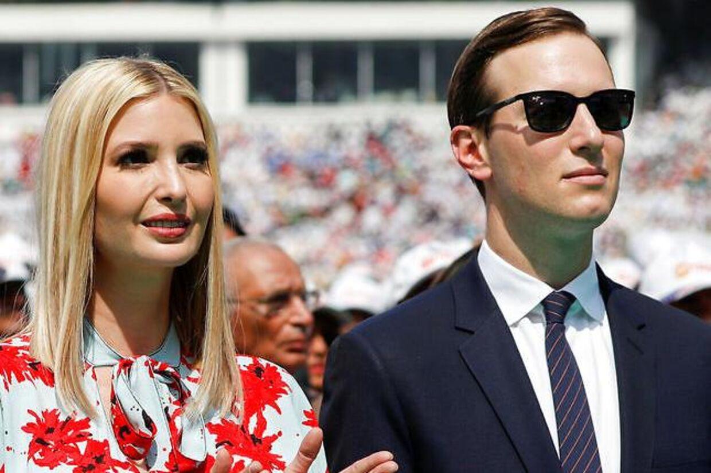 Ivanka Trump og hendes mand, Jared Kushner.
