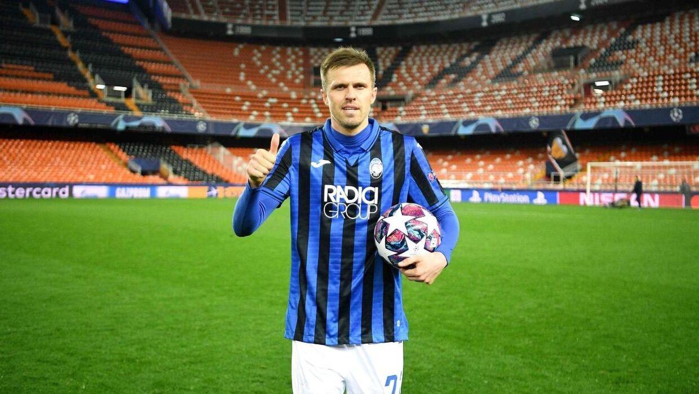 Josip Ilicic bankede hele fire mål ind mod Valencia i Champions League.