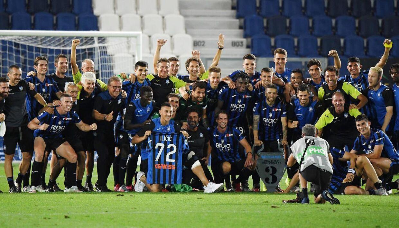 Atalanta-spillerne hyldede deres forsvundne holdkammerat i weekenden.