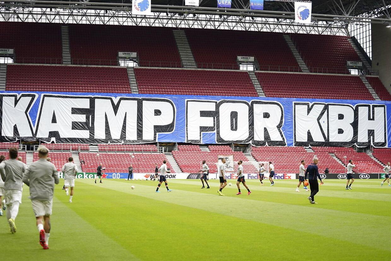 Europa League 1/8-finale returkampen mellem FC København og Istanbul Basaksehir i Telia Parken i København, onsdag den 5. august 2020.