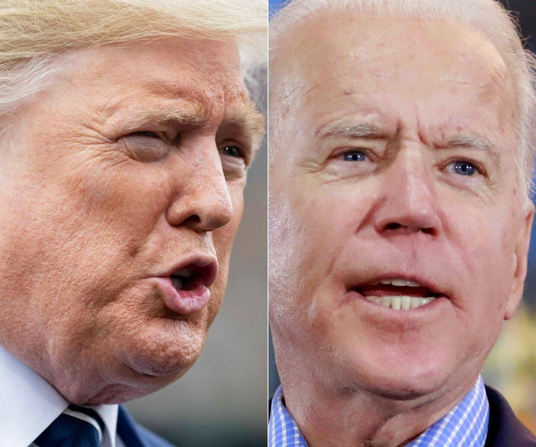 Både Trump og Biden starter i næste måned tv-kampagner, der budgetmæssigt slår alle rekorder.