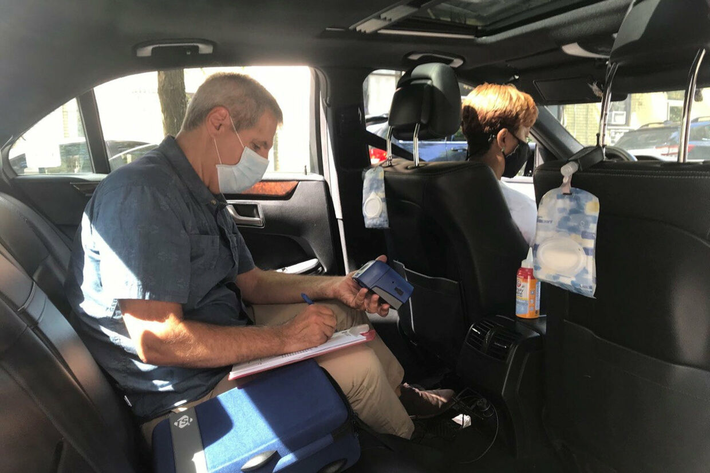 Uber har haft stor tilbagegang i andet kvartal, da der er bestilt langt færre ture under coronaudbruddet. Lucia Girande/Reuters