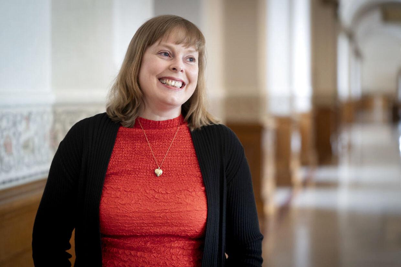 Kulturminister Joy Mogensen (S)