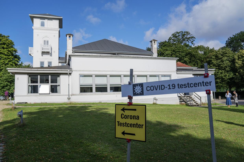 Covid-19 testcenter er sat op i Ringsted tirsdag den 4. august 2020. Antallet af nye smittede med coronavirus tager til igen. Især Ringsted og Aarhus er hårdt ramt. (Arkivfoto) Claus Bech/Ritzau Scanpix