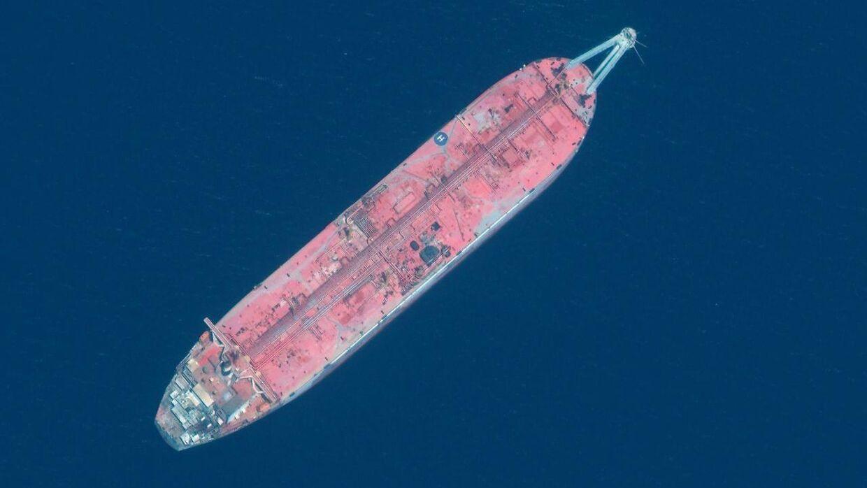 Olietankeren FSO Safer har i siden 2015 være strandet i Rødehavet ud for Yemen med mere en million olietønder i lasten.