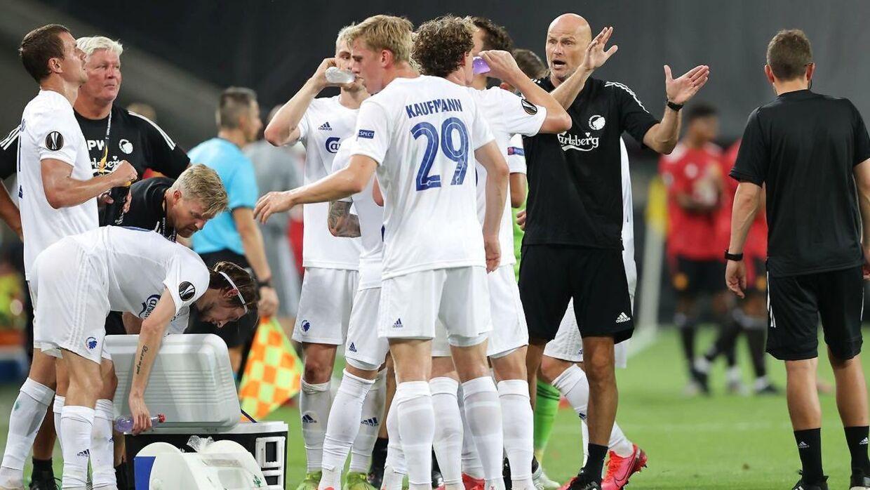 FCK og Manchester United måtte ud i forlænget spilletid mandag aften.