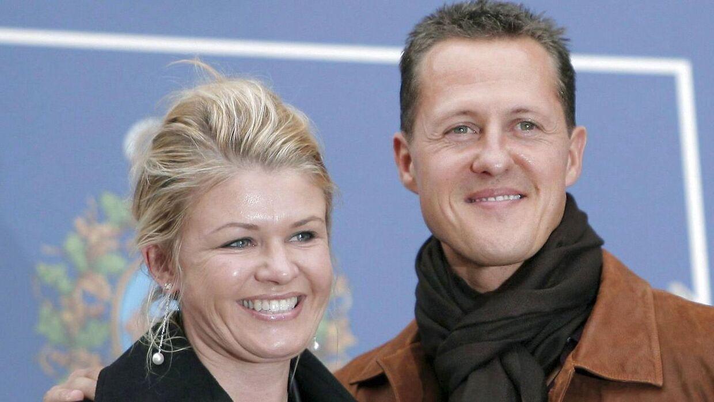Corinna Schumacher har siden Michael Schumachers ulykke passet på ham.
