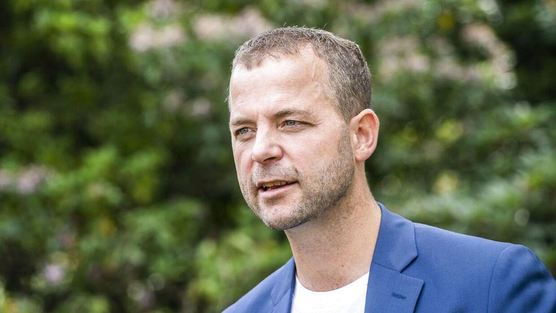 De Radikales formand, Morten Østergaard.
