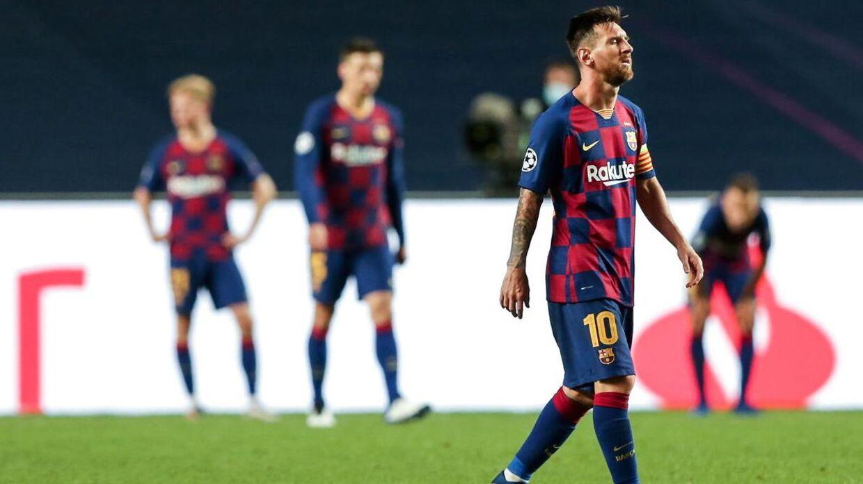 Lionel Messi og resten af Barcelona-holdet tabte fredag aften til Bayern München.