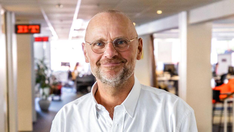 B.T.'s politiske redaktør Henrik Qvortrup.