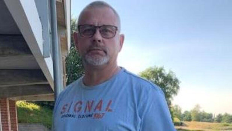 Skuffet. Michael Stephensen, 57 år, kan ikke bruge Mette Frederiksens udspil om tidlig pension til noget som helst.