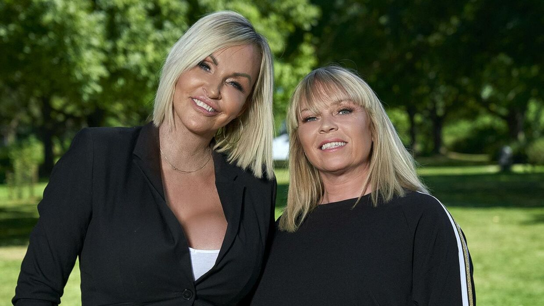Veninderne Linse Kessler og Didde Skjelmose er aktuelle i TV3-programmet 'Linses Danmark'.