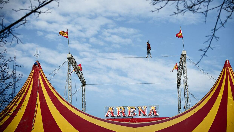 Cirkus Arena mente desuden heller ikke, at de kunne betegnes som arbejdsgiver for Tetiana Korenieva, eftersom hun var ansat i den ukrainske cirkusvirksomhed Bingo Circus Theatre, som var hyret til at bidrage med to numre ved forestillingerne i Danmark det år. Arkivfoto.