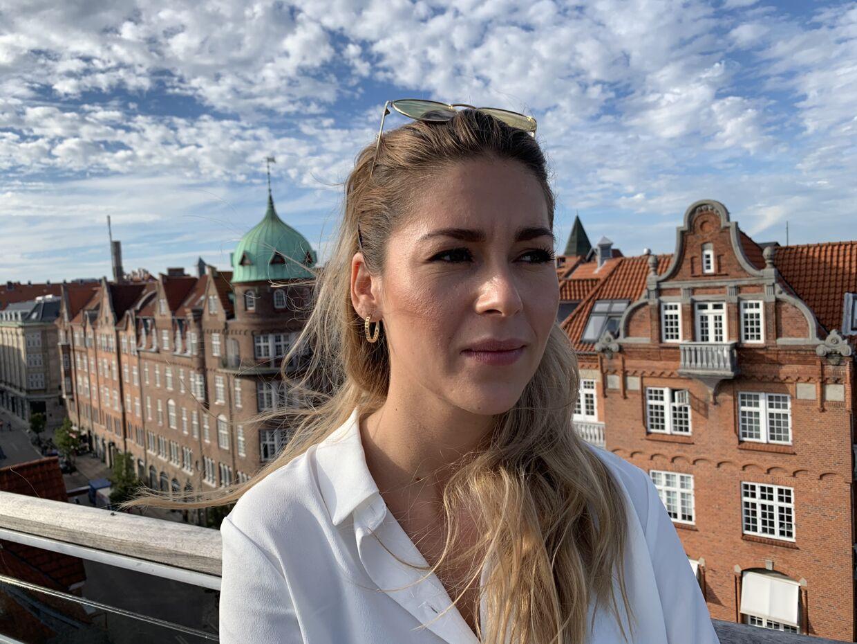 Natasha Motta Mortensen er det seneste i en række ofre for forbrydelser, der har fortalt i B.T., hvodan det føles, at den dømte fik strafrabat på grund af den lange ventetid. Foto: Thomas Nørmark Krog