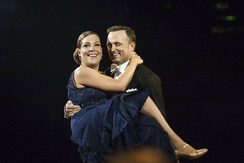 Thomas Evers Poulsen med Astrid Krag i 'Vild med dans' i 2014.