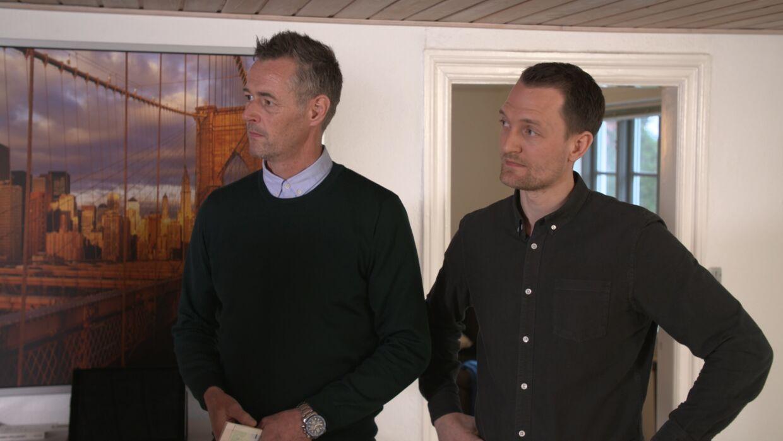 Carsten Linnemann og Kenneth Hansen.