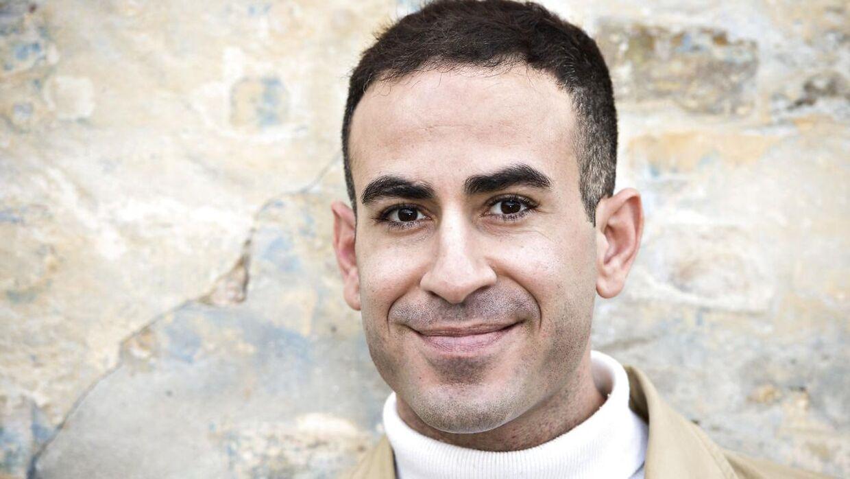 Tv-vært Abdel Aziz Mahmoud.