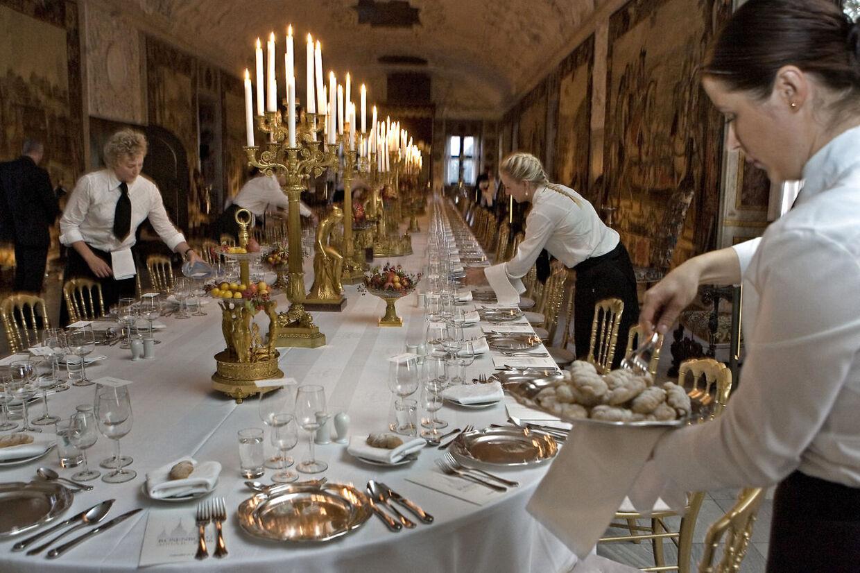 Gallamiddag på Rosenborg Slot