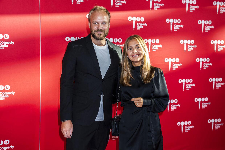 Rød løber ved ZULU Comedy Galla 2020 der afholdes i Operaen i København, onsdag den 26. august 2020. (Foto: Martin Sylvest/Ritzau Scanpix 2020)