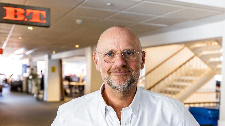 Politisk redaktør på B.T., Henrik Qvortrup.
