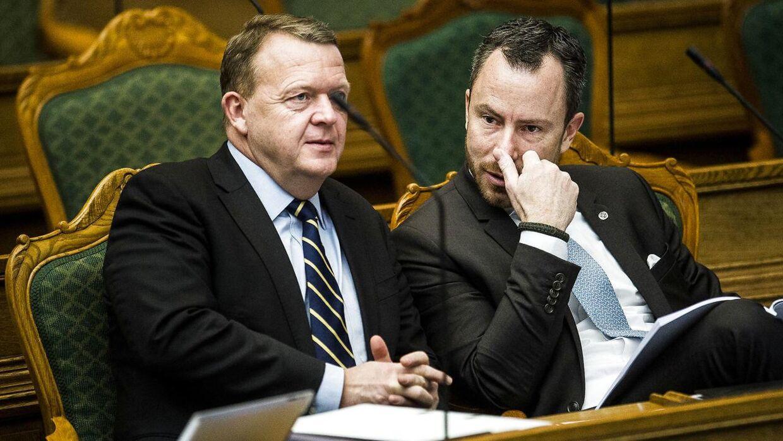Linjerne er ifølge Henrik Qvortrup trukket op mellem Lars Løkke Rasmussen og den nuværende ledelse i Venstre.