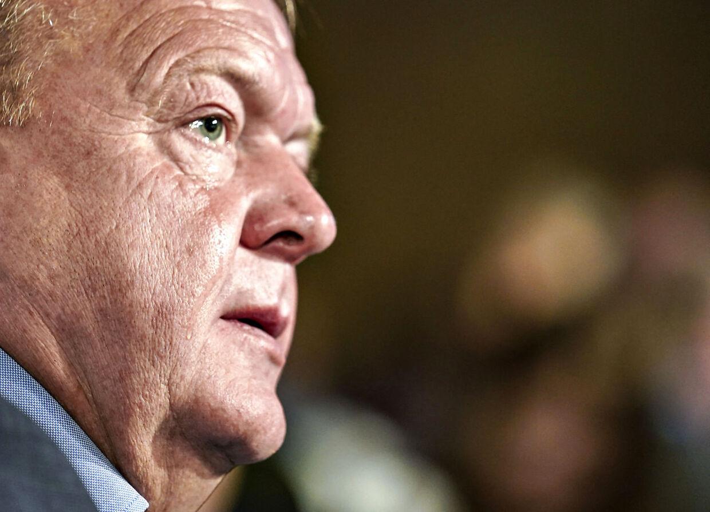 Tidligere V-formand Lars Løkke Rasmussen .