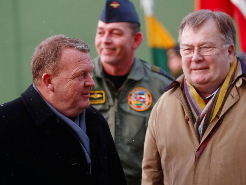 Lars Løkke Rasmussen og Claus Hjort Frederiksen har været nære allierede i Venstre i årevis.
