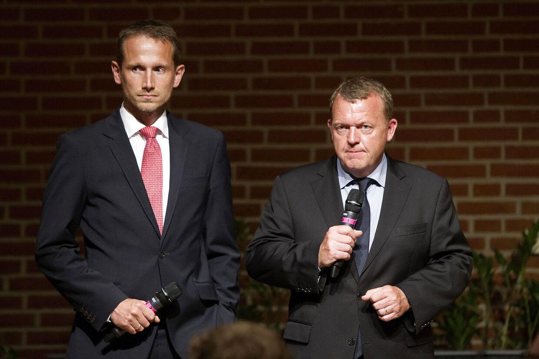 Der var dystre miner i Odense Congress Center tirsdag d. 3. juni 2014, hvor Lars Løkke Rasmussen - stik mod alle forventninger - fastholdt sit formandskab og hvor næstformand Kristian Jensen forblev netop det - næstformand.