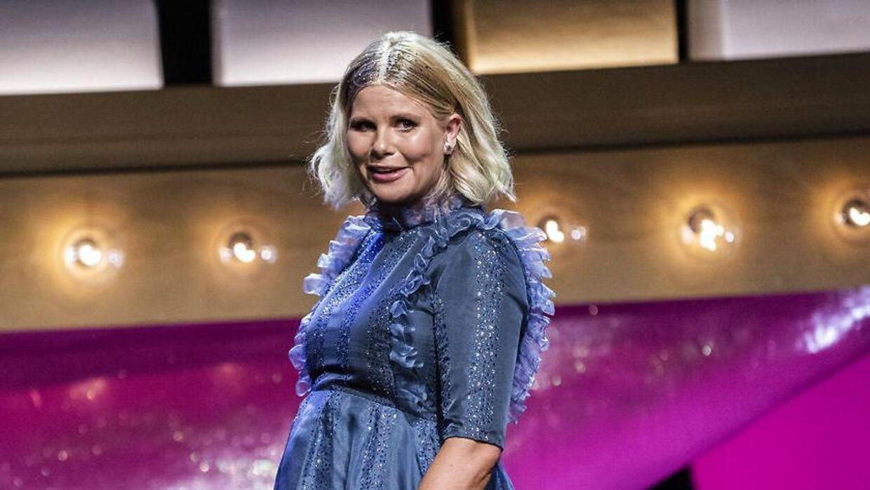 Sofie Lindehavde mange stærke budskaber under dette års 'Comedy Galla'.