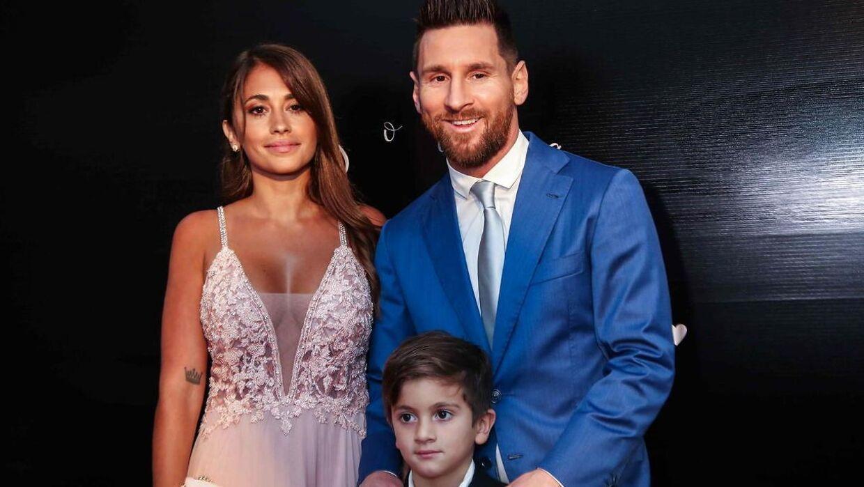 Messi bliver i Barcelona, men da han fortalte familien om sin plan om at forlade klubben, brød alle ud i gråd. (EPA/Federico Anfitti)