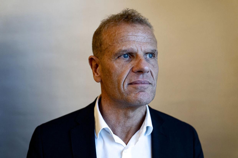 Chefen for Forsvarets Efterretningstjeneste (FE), Lars Findsen, er fritaget fra tjeneste indtil videre. Det samme er to andre ledende medarbejdere. (Foto: Ida Guldbæk Arentsen/Ritzau Scanpix)