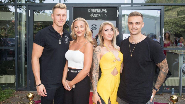 Mathias Hjort, Trine Skjollander, Michelle Vind Koldkur og Kasper Klausen.