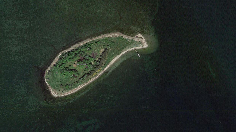 Her ses den danske ø, der er til salg.