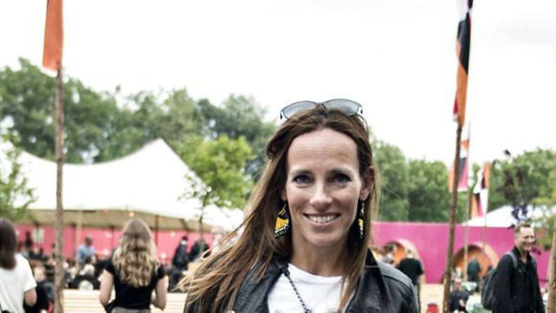Camilla Ottesen er lige nu aktuel i 'Fangerne på fortet', og så skal hun i gang med at lave 'Boligkøb i blinde' snart. Her ses hun på Roskilde Festivalen i 2016.