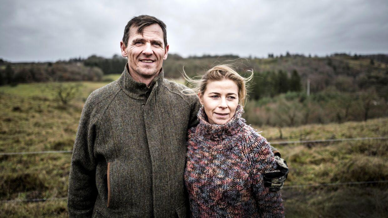 Julie og Bjørn i december 2016.