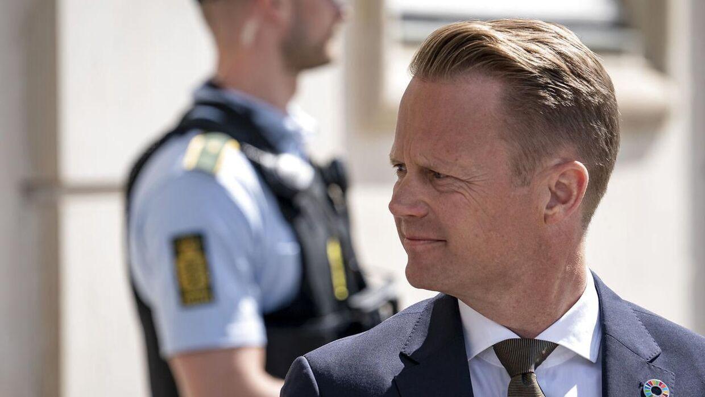 Socialdemokratiet tager Udenrigsminister Jeppe Kofod i forsvar. (Foto: Niels Christian Vilmann/Ritzau Scanpix)