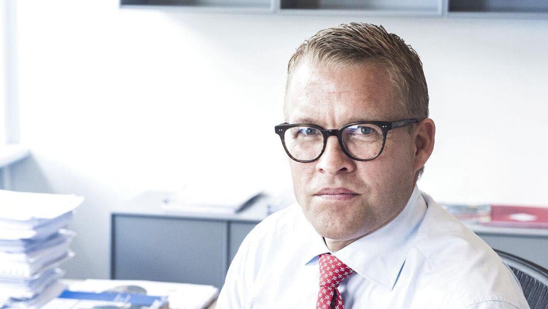 Jakob Riis må vinke farvel til skolen CIID. Foto: Anne Bæk