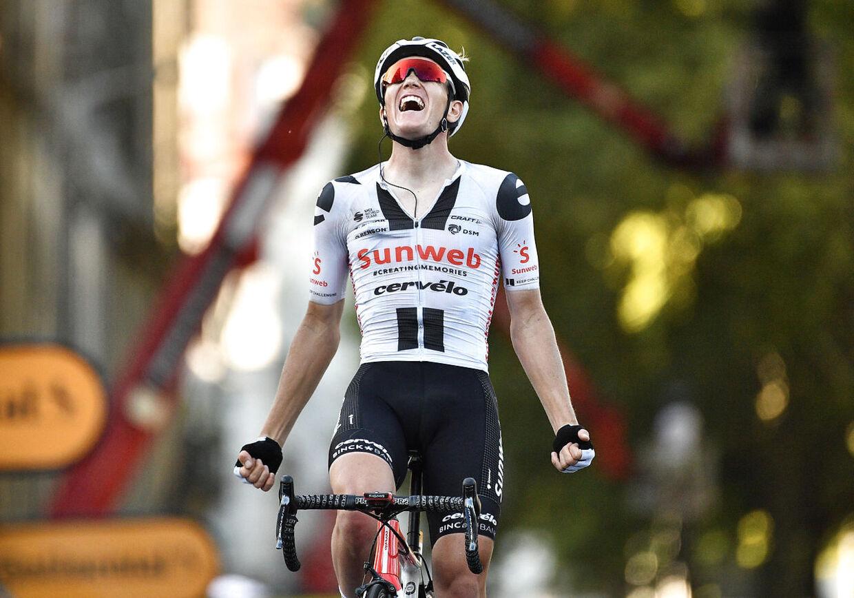 Søren Kragh Andersen opnåede karrierens største resultat, da han vandt 14. etape ved årets Tour de France.