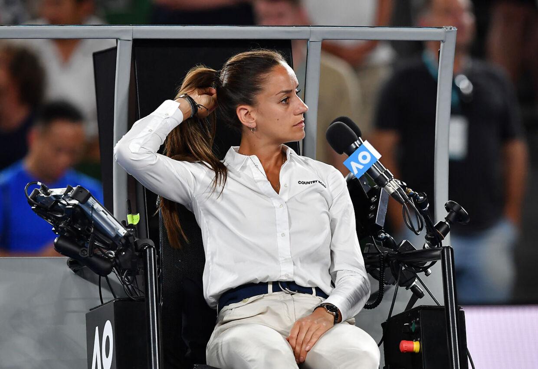 Boris Beckers kommentar var rettet mod Marijana Veljovic.