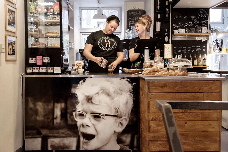 Sonja fra Saxogade har blandt andet lagt navn til en café i kvarteret på Vesterbro. Arkivfoto.