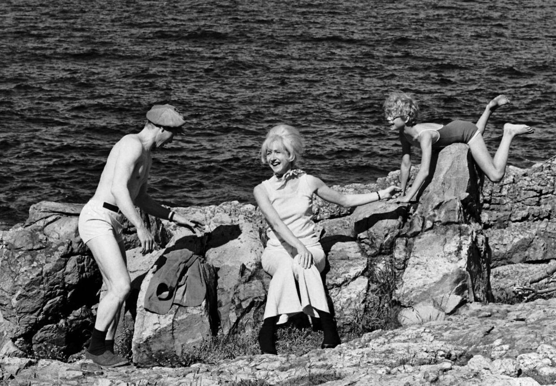 I DR's børne-tv-serie 'Sonja fra Saxogade' var Sonia Maria Sander blandt andet på Bornholm med Jytte Abildstrøm som den forvirrede mor og Freddy Fræk som vennen Frede.