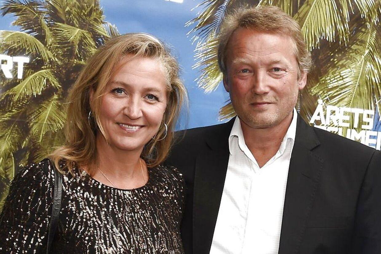 Lisbeth Zornig og hendes mand, Mikael Lindholm. Tilsammen har de otte børn, og det er for dem og deres børn, at hun vil være stærk.
