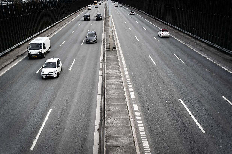 Helsingørmotorvejen. Arkivfoto.