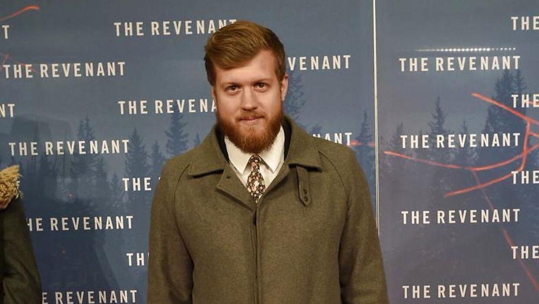 Gallapremiere tirsdag aften d. 19. januar 2016 i Grand biografen på filmen The Revenant med bl.a. Leonardo diCaprio. Her ankommer Anders Stegger. (Foto: Jens Nørgaard Larsen/Scanpix 2016)