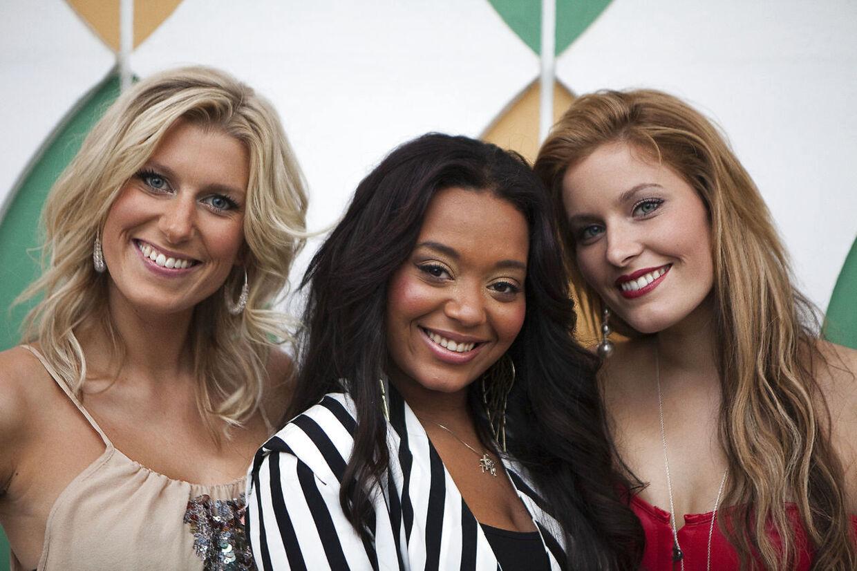 Sukkerchock i Tivoli. Kat Stephie Holst, Malene Qvist og Simone Cameron.