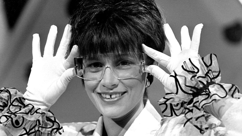 Melodi Grand Prix 1988. Kirsten Siggaard sang 'Ka' du se hva' jeg sa''.