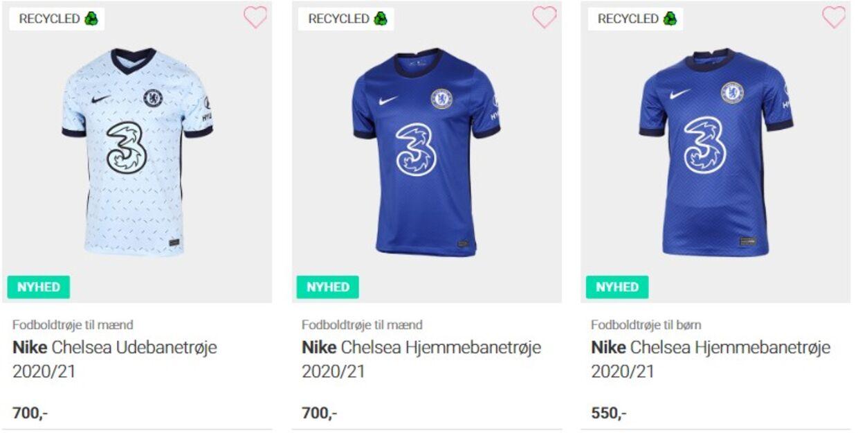 Find dit yndlingsbeklædningsgenstand af Chelsea og støt klubben.