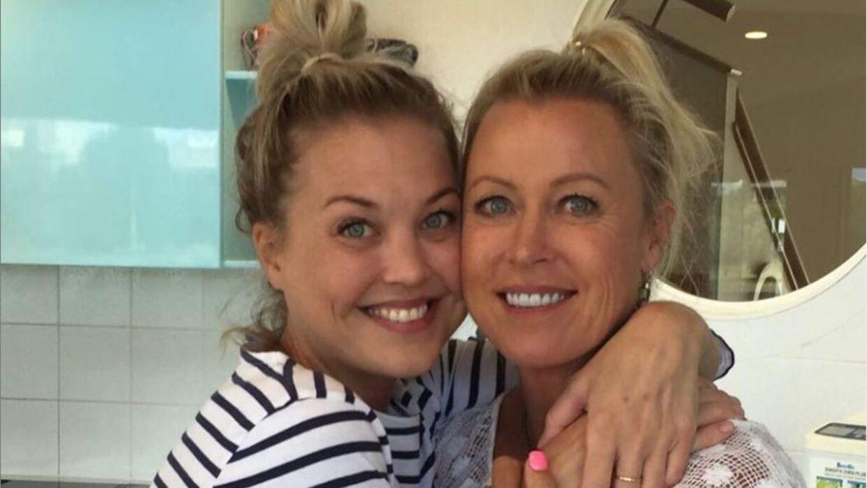 Lisa Curry har mistet datteren Jaimi (tv.).