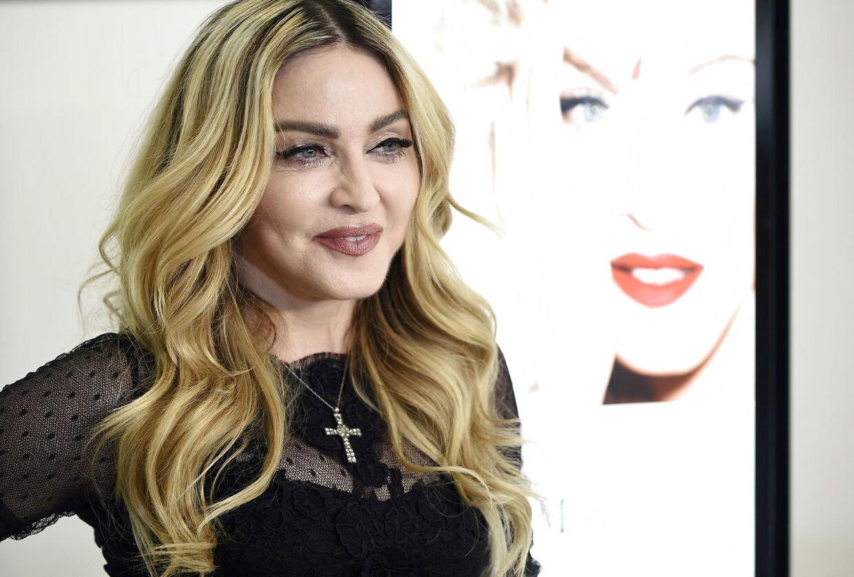 Madonna fotograferet i 2016. EPA/FRANCK ROBICHON