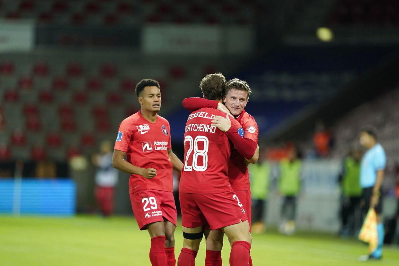 Champions League kvalifikationskampen FC Midtjylland mod BSC Young Boys på MCH Arena i Herning, onsdag den 16. september 2020.